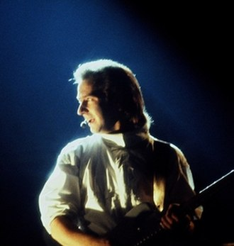 Ultravox - Ultravox vocalist Midge Ure in concert, April 1984