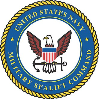 Military Sealift Command - The official seal of Military Sealift Command.