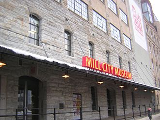 Mill City Museum - Front of building