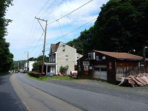 East Norwegian Township, Schuylkill County, Pennsylvania - Mill Creek Avenue in East Norwegian Twp.