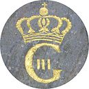 Gustav IIIs navnechiffer.