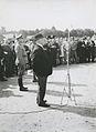 Minister president Hendrik Colijn spreekt op het Molenveld aan het einde van de – F40975 – KNBLO.jpg