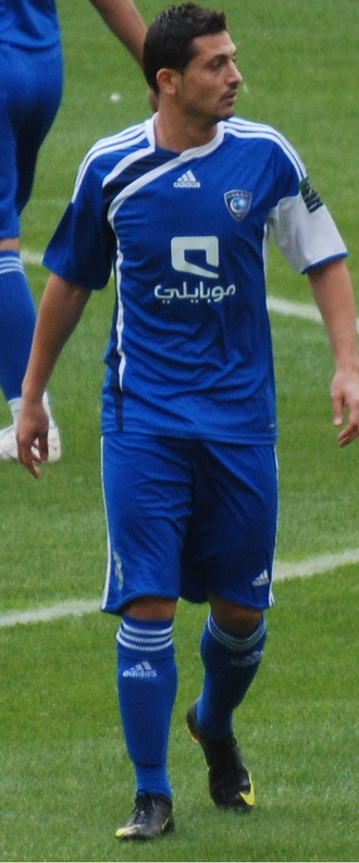 Mirel Rădoi - Mirel Rădoi during a game at Al-Hilal