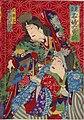 Mitate Meifu Rokuyū sen, Ōiko, Ichikawa Sadanji.jpg