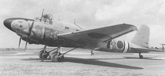 Mitsubishi Ki-57 - MC-20-II with a nickname Hakutsuru (white crane) during the Sino-Japanese war.