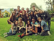 Mixed Company on tour in Ecuador in 2012.