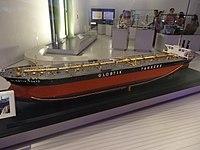 Model oil tanker Globtik Tokyo - Science Museum (London).jpg
