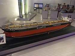 Model oil tanker Globtik Tokyo - Science Museum (London).jpg