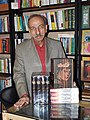 Mohammad madjlessi with his books.jpg
