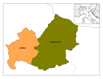 Provincies de Molise.