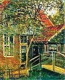 Monet 1871 Zaandam, Little Bridge.jpg