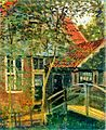 Monet 1871 Zaandam, Little Bridge.jpg