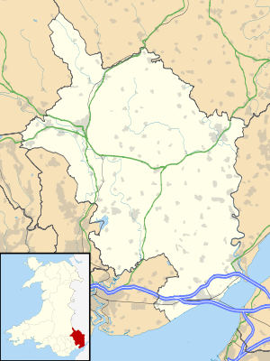 Monmouthshire UK location map.svg
