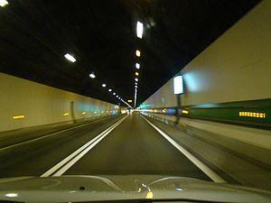 Mont Blanc Tunnel - Mont Blanc Tunnel in 2008