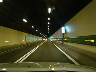 Mont Blanc Tunnel - Mont Blanc Tunnel in 2008