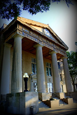 Troy, North Carolina - Montgomery County Courthouse, June 2014