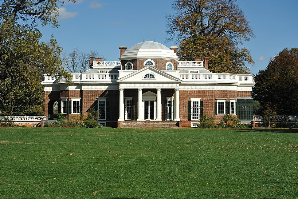 Monticello plantation house