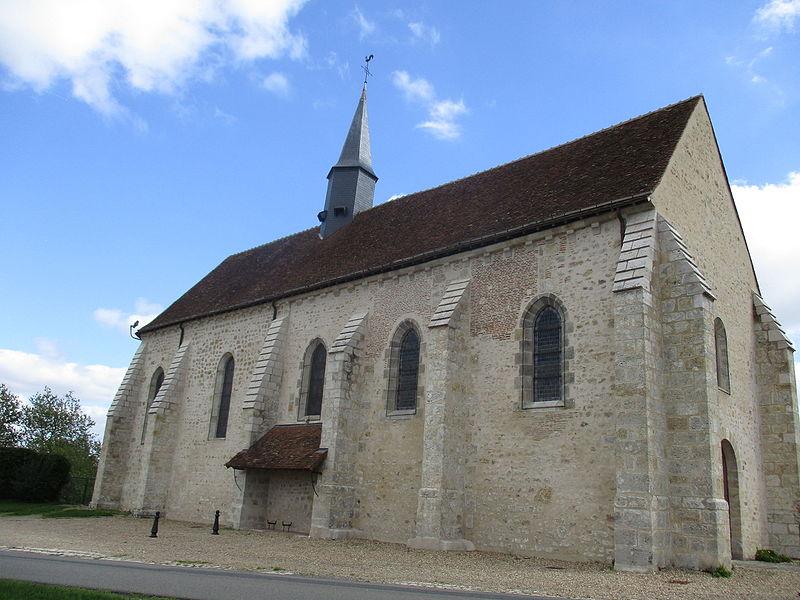 Église Notre-Dame de Montliard, vue générale.