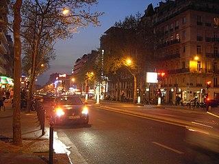 Stadtviertel von Paris