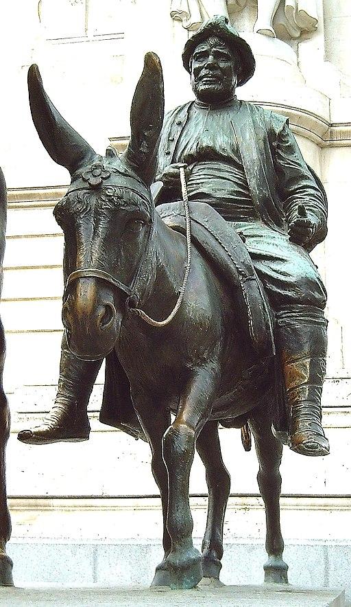 Monumento a Cervantes (Madrid) 10b
