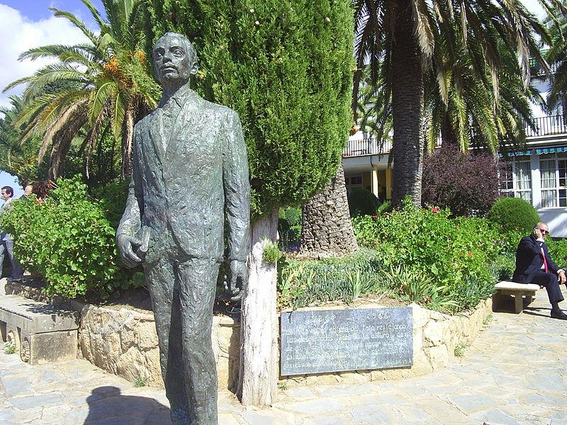 File:Monumento a Rilke, Ronda.JPG