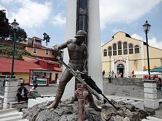 Mineral del Monte - Image: Monumento al Minero, Real de Monte, Hgo