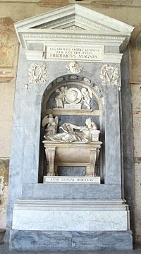 Monumento sepolcrale del conte Francesco Algarotti (m. 1764) di Carlo Bianconi, Mauro Tesi e Giovanni Antonio Cibei.JPG