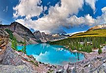 North America-Geography-Moraine Lake