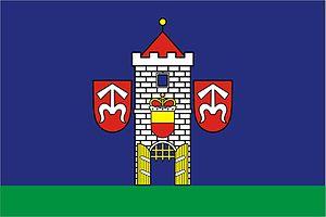 Moravský Krumlov - Image: Moravský Krumlov vlajka