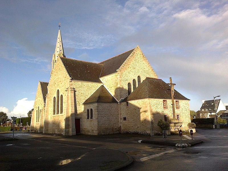 Morbihan Saint-Pierre-Quiberon Eglise Chevet 13012014