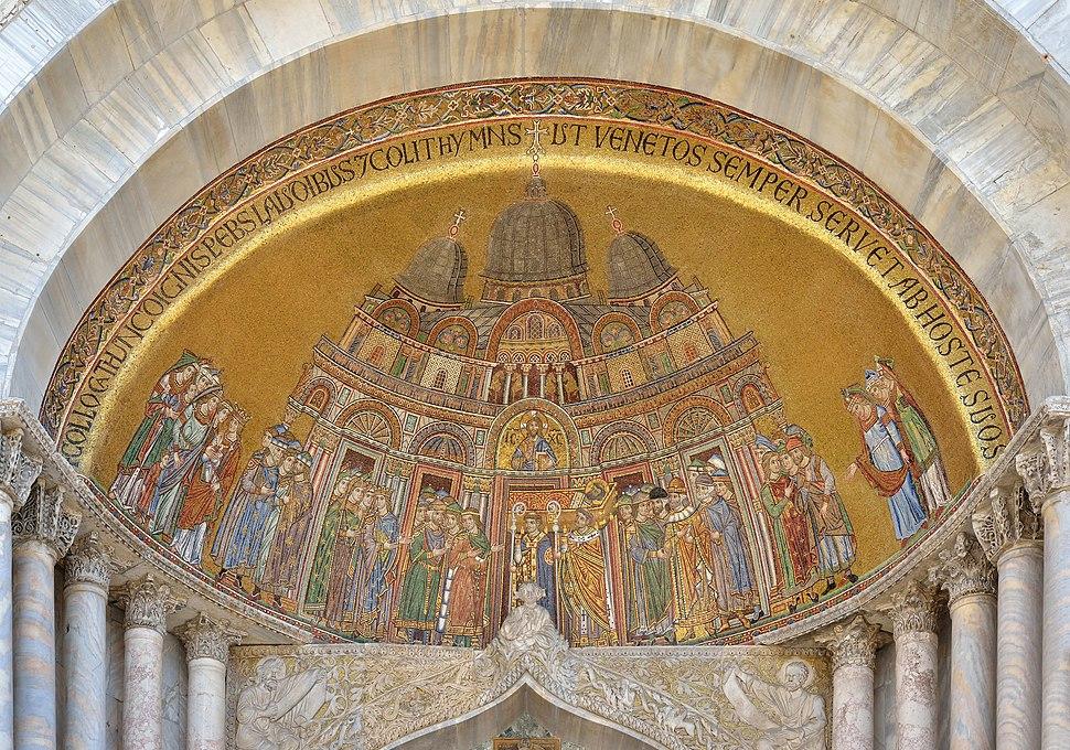 Mosaico traslazione San Marco Venezia