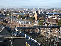 View over Motherwell