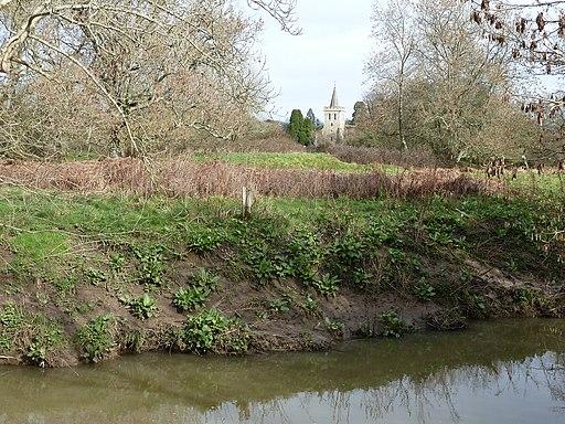 Motte and Bailey near Isfield Church