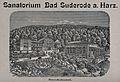 Mountainous view of Sanatorium Bad Suderode in the Harz moun Wellcome V0012156.jpg