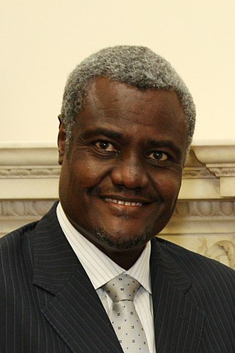 Chairperson of the African Union Commission - Image: Moussa Faki Mahamat