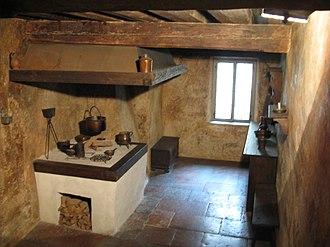 Mozart's birthplace - Mozart's kitchen
