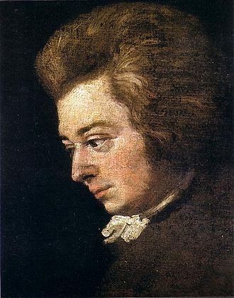 Joseph Lange - Image: Mozart 1783 lange