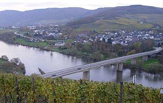 Mülheim an der Mosel Place in Rhineland-Palatinate, Germany