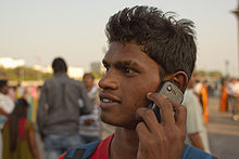 Mumbai Guy on Cellphone November 2011 -3-4.jpg