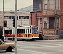Muni LRV at San Jose and Geneva, May 1997 (cropped).jpg