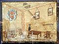 Museo bernareggi, collezione di ex-voto, caduta di una trave.JPG