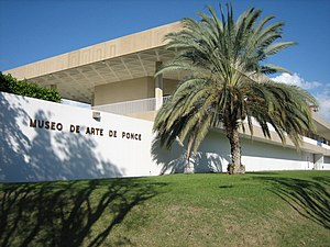 Canas Urbano - The Museo de Arte de Ponce, a mecca for the arts in the Puerto Rico, is located in northern Canas Urbano