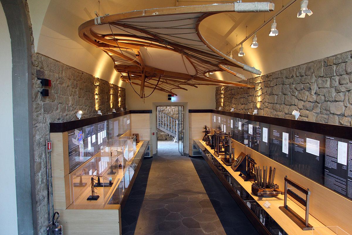 Museo leonardiano di vinci wikipedia for Disegni della casa della cabina di ceppo