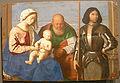 Museo regionale di messina, vincenzo catena, sacra famiglia con san giorgio.JPG