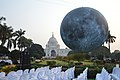 Museum Of The Moon Installation - Victoria Memorial Hall - Kolkata 2018-02-17 1311.JPG