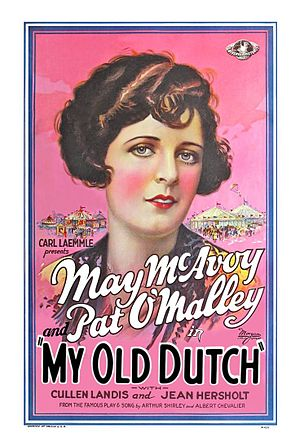 My Old Dutch (1926 film) - Film poster