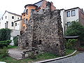 Náchod defensive wall ruin, tower 02.JPG