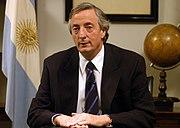 Néstor Kirchner - 20050402 - Regimiento de Patricios (Argentina)
