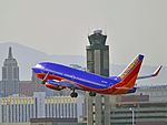 N405WN Southwest Airlines 2001 Boeing 737-7H4 C-N 27893 (5594062253).jpg