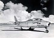 NAA TF-86 transonic trainer